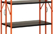ワンタッチ折りたたみ式スチール棚「ワンタッチラック」