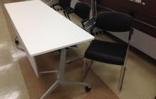 電設企業 O社様 ホール 会議テーブルとチェア
