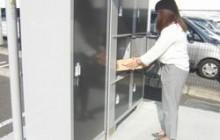 アパート・マンション 駐車場隣接の宅配ロッカーとして活用